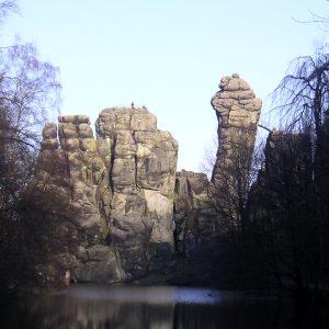 Externsteine ein geomantischer Kraftort in NRW