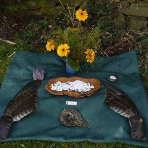 geomantische Kraftplatzgestaltung Ritualplatz