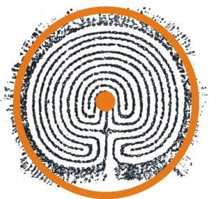 Das Ziel aller Labyrinthe liegt in der räumlichen Mitte der Form.
