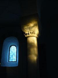 Sonnenuntergang zu Mittsommer in der Drüggelter Kapelle