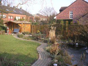 Geomantische Gestaltung eines kleinen Gartens