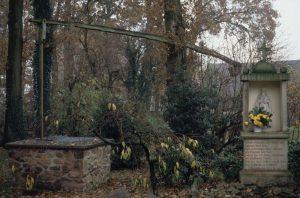 Der Ludgerus-Brunnen in Tannenberg bei Haltern wurde vom heiligen Ludger im 9.Jh. gefunden.