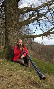Kraftplatzaktivierung mit Didgeridoo im Wittenener Muttental